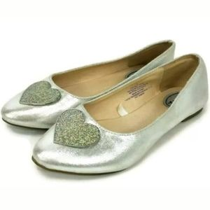 Stevies by Steve Madden Silver Youth Big Girls Hea